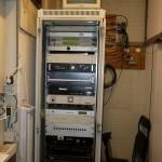 Apparatuur rack