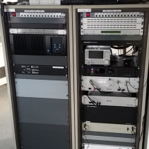 De racks van PI3UTR,PI1UTR(dstar,DMR) , PI6TEN en de 70cm websdr.