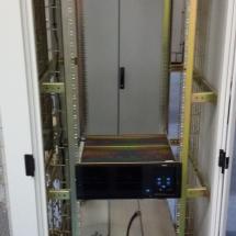 Het begin van de herbouw van PI3UTR is in volle gang (Tait repeater en duplex filter).