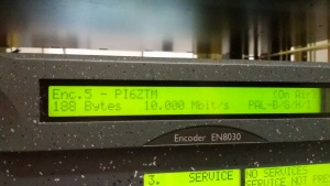 De digitale ontvanger tbv PI6ZTM Zoetermeer.