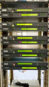 Digitale video ontvangers en encoders van de diverse atv repeaters in het land.
