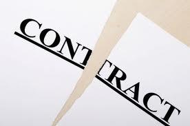 einde contract
